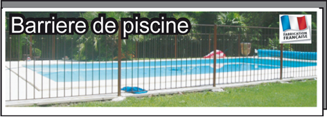 D co barriere piscine fer forge 18 strasbourg for Barriere de piscine leroy merlin
